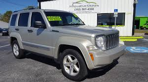 liberty jeep 2008 2008 liberty limited edition 83k miles innovative motors