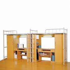 Bunk Beds With Wardrobe Dormitory Bunk Bed Used For College And With Wardrobe