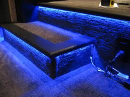 awesome home theater step lighting home decoration ideas designing