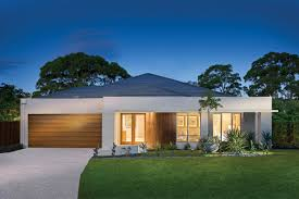 prime nature residence natural modern house plan on difficult site
