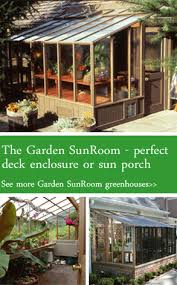 Sunrooms For Decks Garden Sunroom Kits By Sturdi Built Greenhouses