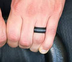 mens silicone wedding band wedding rings for electricians awesome mens silicone