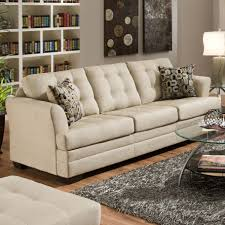 Simmons Sleeper Sofa by Simmons Upholstery 2057 Contemporarty Sofa With Tufted Cushions