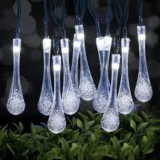 Outdoor Fairy Lights Solar by Solar Fairy Lights 30led 20ft Oak Leaf Waterproof Outdoor Garden