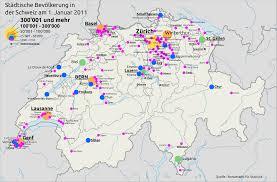 größte stadt deutschlands fläche liste der städte in der schweiz