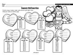 mean median mode range worksheets 7th grade free worksheets