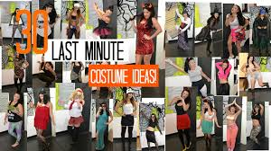 last minute diy halloween costumes 30 last minute diy halloween costume ideas lancengi youtube