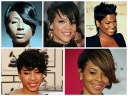 razor cut hairstyles for black women 17 best images about future