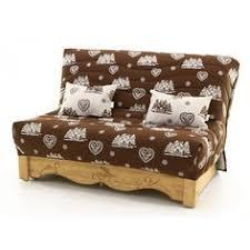 canapé en pin canapé convertible clic clac pin massif 130 x 190 cm cervino