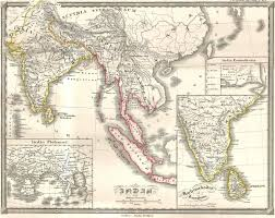 Map Southeast Asia by File 1855 Spruneri Map Of India And Southeast Asia In Ancient