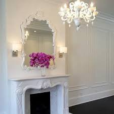 livingroom mirrors mirror fireplace design ideas