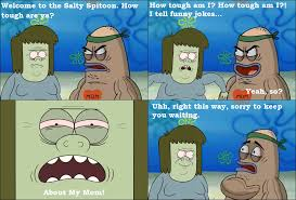 Funny Regular Show Memes - regular show muscleman goes to the salty spitoon by dinodavid8rb