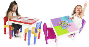duplo table with chairs toysrus 2 in 1 activity table w 2 chairs 100 blocks only