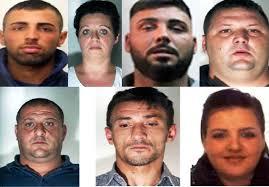rapina in rapina in con sequestro di persona sette siciliani in