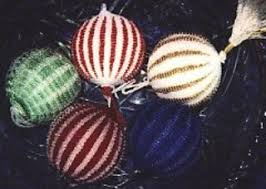 ravelry beaded christmas ornaments pattern by theresa williams