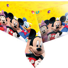 Minnie Mouse Table Covers Disney Mickey Mouse Playful Party Table Cover