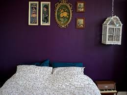 Luxury Bedroom Ceiling Design White Table Lamp On Bedside Dark by Dark Purple Bedroom Paint Notch Black Shade Table Lamp Purple