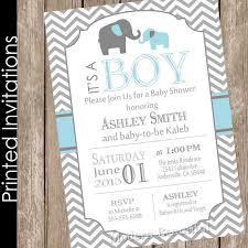 popular baby shower baby shower invitations enchanting baby boy elephant shower