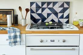 How To Make A Backsplash In Your Kitchen by A First Apartment In Boerum Hill A Cup Of Jo