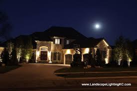 Lighting In Landscape Landscape Outdoor Lighting In Kansas City Led Lights