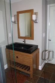 Bathroom Vanity Decorating Ideas Bamboo Vanity Bathroom Creative Information About Home Interior