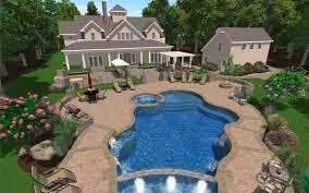 Backyard Pool Landscape Ideas by Pool Backyard Designs Home Design Ideas