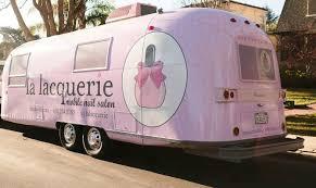 la lacquerie mobile nail salon find a fashion truck