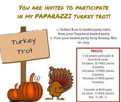 still time to get into my turkey trot sales competition