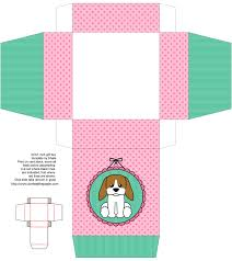 dog box cute kids crafts free box templates to print for gift