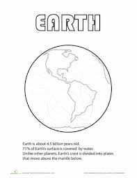 planets coloring page funycoloring
