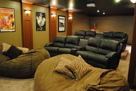 superb bean bag chairs for adults in home theater modern with