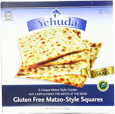 kosher for passover matzah yehuda matzo squares gluten free 10 5 ounce pack of 3