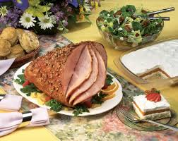 glazed ham with pecan crust pork recipes pork be inspired