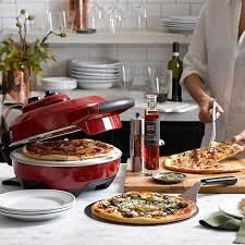 table top pizza oven breville crispy crust pizza maker williams sonoma
