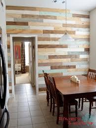 rivestimento legno pareti rivestimenti in legno fai da te con i pallet riciclati