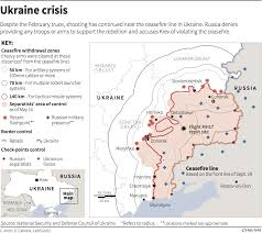 Map Of Ukraine And Crimea Ukrainian President Vows To Regain Control Of Crimea Eastern