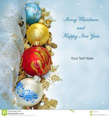 new years card greetings merry christmas and happy new year greeting card stock photography