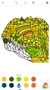 dinosaur colouring book app store