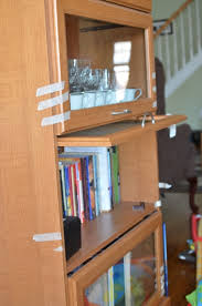 Barrister Bookcase Door Slides Furniture How Can I Find The Part To Fix This Bookshelf Home