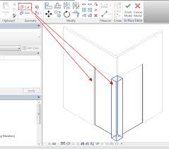 Curtain Wall Mullion Revit Problem With Corner Of Two Curtain Walls Each Embedded In Masonry