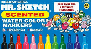 bookofjoe fruit scented markers
