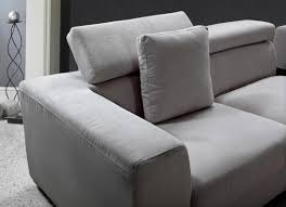 Modern Sectional Sofa Bed by Modern Sectional Sofa Grey Microfiber Vg Fort 16 Fabric
