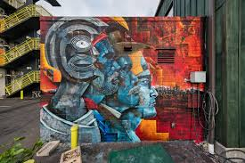 in hawaii contemporary art gets its moment in the sun the new a mural by cory taum credit brandon shigeta