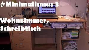Wohnzimmer Computer Minimalismus 3 Aussortieren 3 Vorher Nachher Wohnzimmer