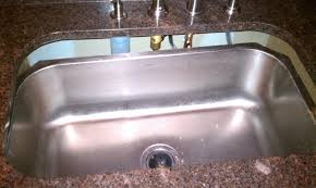 Stainless Steel Sink With Bronze Faucet Granite Countertop Cabinet Finishes And Colors Quality Stainless