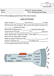 light and shadows lesson plans primaryleap co uk light and shadow worksheet 4th science and