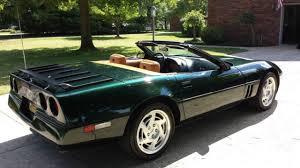 1990 chevy corvette chevrolet corvette convertible 1990 polo green for sale