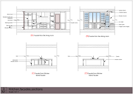 building plan elevation section image with house plans elevation