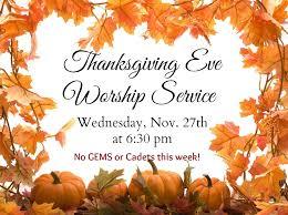 happy thanksgiving faith community church