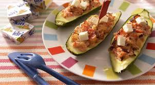 recette cuisine courgette recette courgettes farcies aux légumes et kiri plat